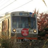 静岡鉄道は古庄駅近くの風景 (オマケはゆるキャラあるある ?)