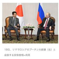 日露首脳 領土問題で協議