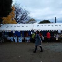 町内会の第16回ふれあいフェスタに設営要員で参加しました