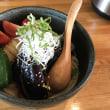 田りた麺乃助-揚げ茄子冷しぶっかけうどん