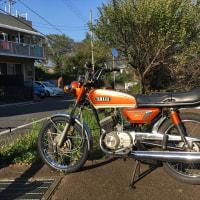 今日のAX125橙2(10月20日)