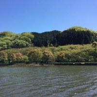 ダム湖は、、