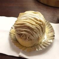 高知市「マツヤ」四万十栗のモンブラン!