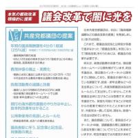 市民とつながる、都政につなぐ──池川友一活動報告ニュース「都政への架け橋」(第8号)