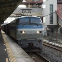 EF66-105号機@吹上駅