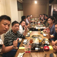 委員長報告。四究会メンバーで神戸に一泊二日のゴルフ遠征に行って来ました!