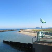 青い海と空・・・!