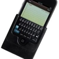 iPhone用の外付リアル・キーボードには深い意味がないか