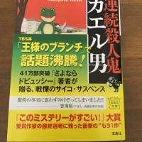 小説『連続殺人事件 カエル男』