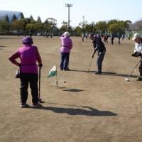グラウンドゴルフ大会・・・湯花楽杯