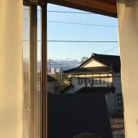 今朝の立山連峰