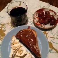 Marrone e Bianco:甘味と塩味の二色トーストで朝ごパン♪