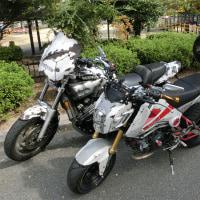 錆び1号(V-MAX1200)&2号(GROM)
