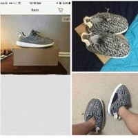 インターネットで靴買わね