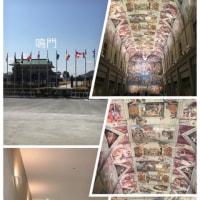 やっと来ました大塚国際美術館