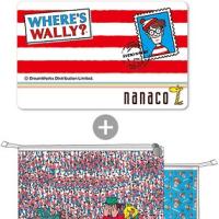 ウォーリーをさがせ! nanacoカード 予約情報 オリジナルクラッチバッグ付き