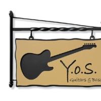 Y.O.S.ギター工房様のブラケット看板