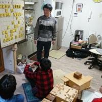 1月13日金曜日教室の風景。