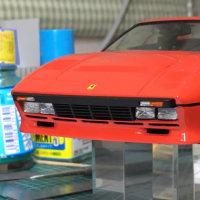 フジミ フェラーリ 288GTO (8)