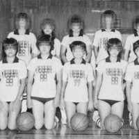 N中学校女子バスケ部ユニフォーム