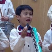 7日は幼稚園のクリスマスコンサートでした