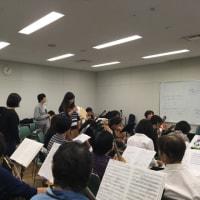 大阪樟蔭女子大学第50回定期演奏会練習