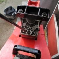 薪割り機のメンテナンス