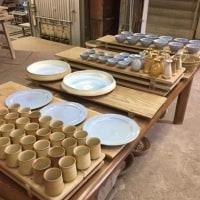 窯だし / Take out works from the kiln /  從窯中取出工程 / 从窑中取出工程