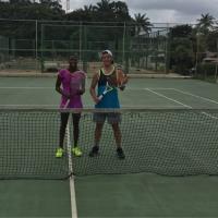 チャンピオンとテニスをしました2