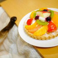リンゴのホットケーキ フルーツケーキ