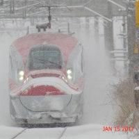 雪の新幹線こまち