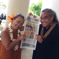 前回から約一か月後の満月の日inハワイ