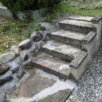 石のリフォーム工事