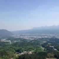 晴天の霊山嵩山