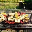 豆腐と椎茸のグリル