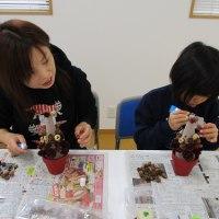 花育 木の実のツリー教室 ◇ フォルテ小新白鳥自治会 ◇
