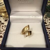 記念の指輪