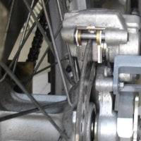 リヤブレーキ整備 RMX