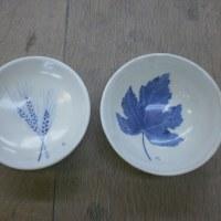 野口さんの大皿と小皿(還元焼成)