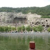 洛陽龍門石窟その⑤ 伊河の遊覧船