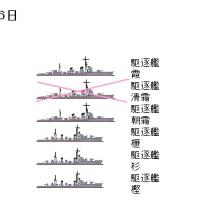 太平洋戦争主要海戦参加艦艇