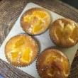 オレンジアーモンドケーキと雷&雹