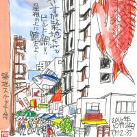 10月24日 スケッチ会 築地本願寺