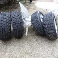 タイヤの衣替え