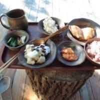 津軽金山焼の皿