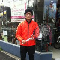 なんと、テニス歴40年!のプレーヤー「ホーリー」さん登場!!