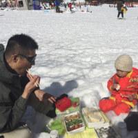初スキー(^^)