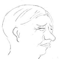 12月7日のチョコット似顔絵