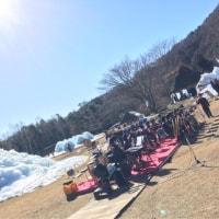 西湖樹氷祭り!
