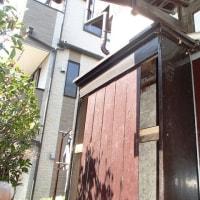 古い戸箱の修理
